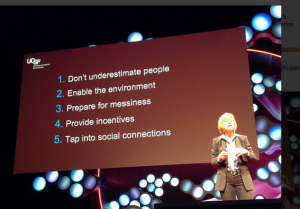 5 steps towards participatory medicine from Susan Desmond-Hellmann, MD, MPH & the ninth Chancellor of the University of California at TEDMED today.