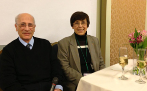 Dr. Irma Russo and her husband, Dr. Jose Russo, celebrating their 45th wedding anniversary at the first YSC Research Think Tank meeting.