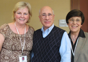 Me, at left,  with Drs. Jose and Irma Russo