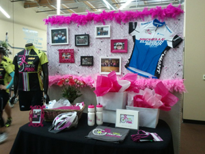 Display in Honor of Michelle Weiser at Giant Headquarters.
