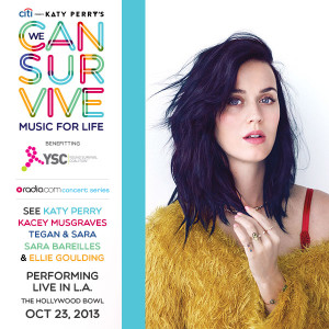 Katy Perry #WeCanSurvive Concert