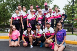 """""""I Ride 4 Her,"""" has raised more than $90,000 for YSC in the past four years."""