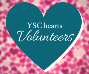 YSC hearts Volunteers