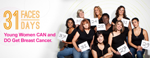 31 Faces, 31 Days - Breast Cancer Isn't Pretty, and It Isn't Pink