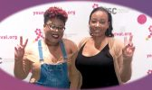 Jasmine Souers and Marissa Thomas, Co-founders of For the Breast of Us